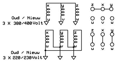9 Lead 3 Phase Motor Wiring Diagram together with Stator Winding Design Considerations Electric Motors furthermore Ajax Boiler Wiring Diagram additionally Typical Motor Starter Wiring Diagram Inspirationa How To Wire Star Delta Motor Starter Power And Control Circuit as well Y Delta Transformer Circuit Diagram. on delta y wiring