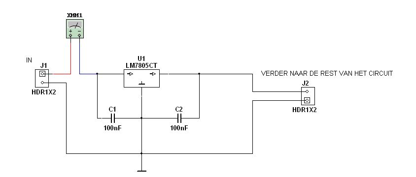 ampere meter aansluiten