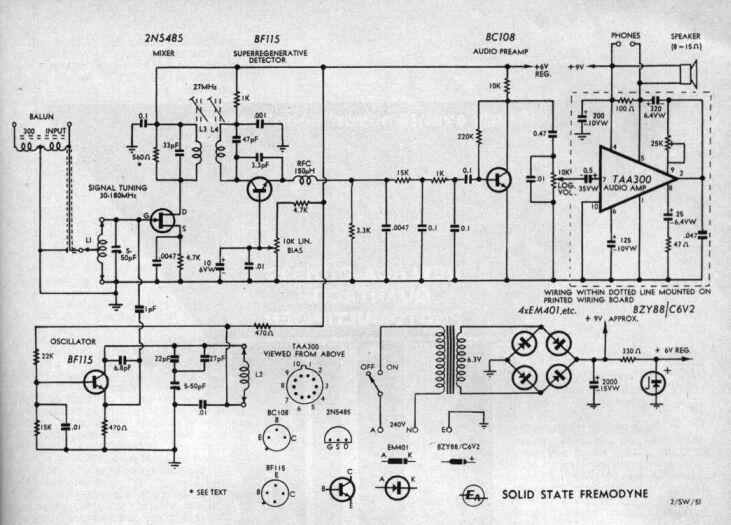 transistor fremodyne
