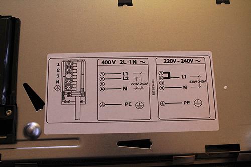 220 Volt Wiring >> AEG kookplaat aansluiten op perilex - Forum - Circuits Online