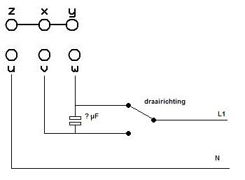 Motor condensator berekenen