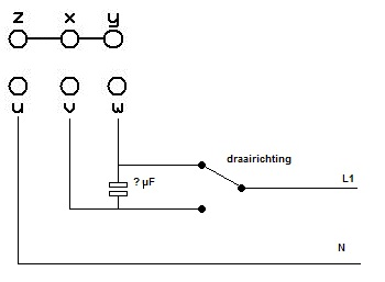 Condensator berekenen 3 fase motor