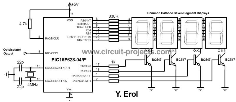 Многофункциональный частотомер на PIC16F628A и LED-индикаторах