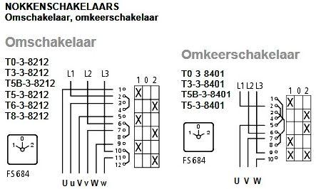 Circuits Online - Forum - elektromotor met nokkenschakelaar