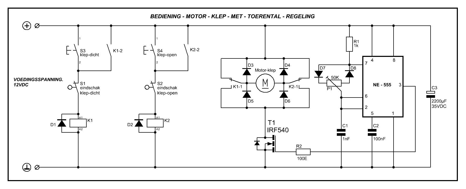 Pwm Sturing Op Dc Motor Met H Brug Forum Circuits Online