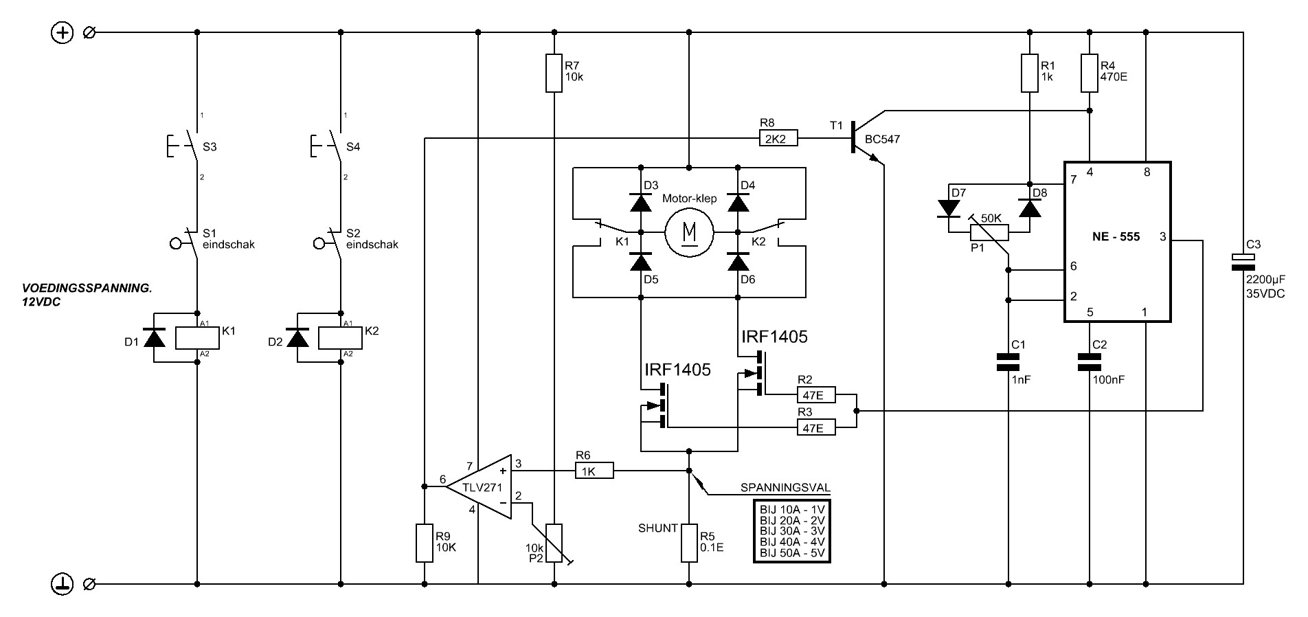 12volt 240watt motoraansturing - forum