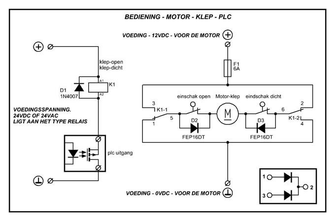 Schema Di Cablaggio Plc : Aansluiting relais op een xm plc forum circuits online