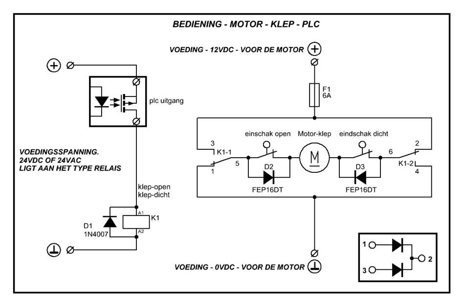Schema Collegamento Open Collector : Aansluiting relais op een xm plc forum circuits online