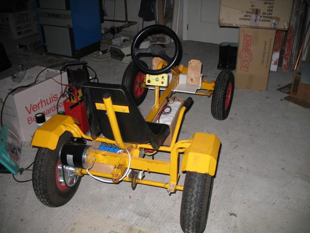 Skelter met elektrische motor