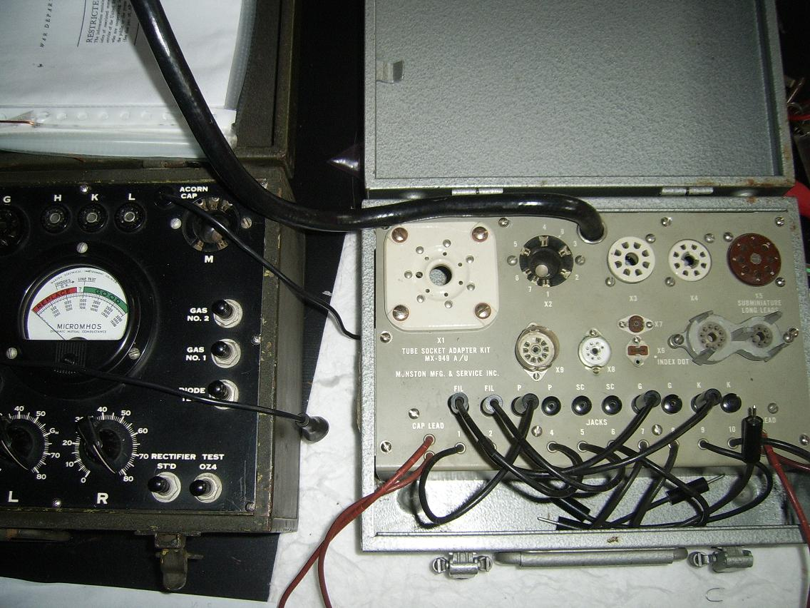 Vacuum tube tester, do you own one? - Page 6 - diyAudio