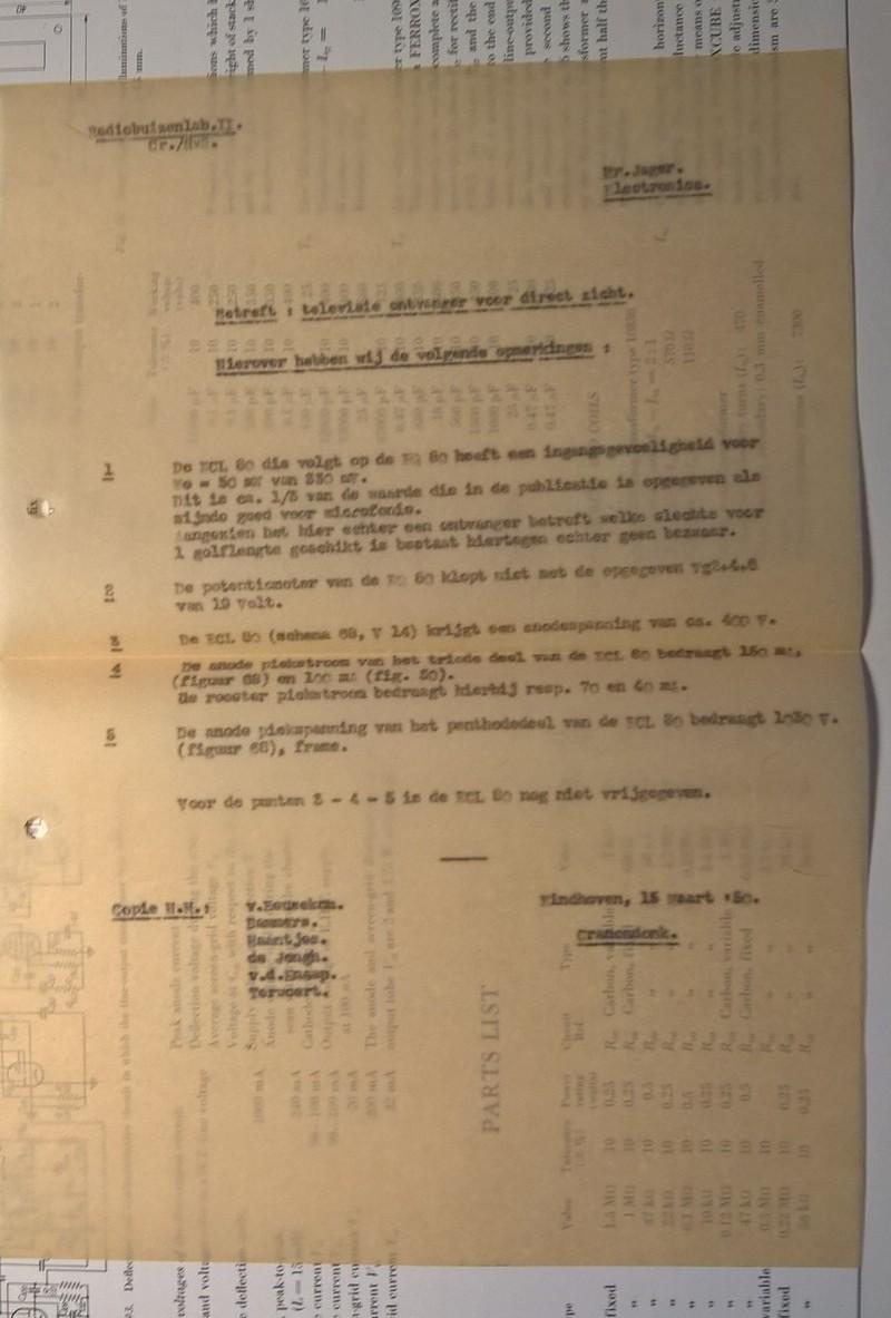 Nieuwe website geschiedenis philips tv ontwikkeling 1946 56 nederlands forum over oude radio 39 s - Ontwikkeling m ...